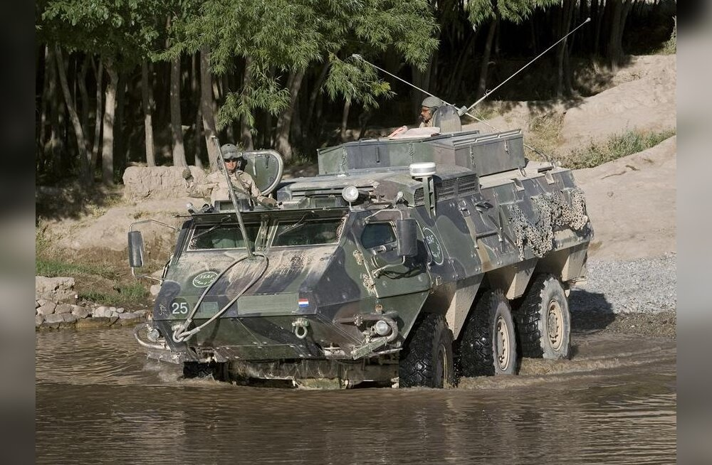 Kaitseväele ostetakse 320 miljoni krooni eest 81 Sisu XA-188 soomukit