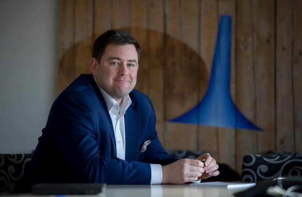 Swedbanki peadirektor Robert Kitt.