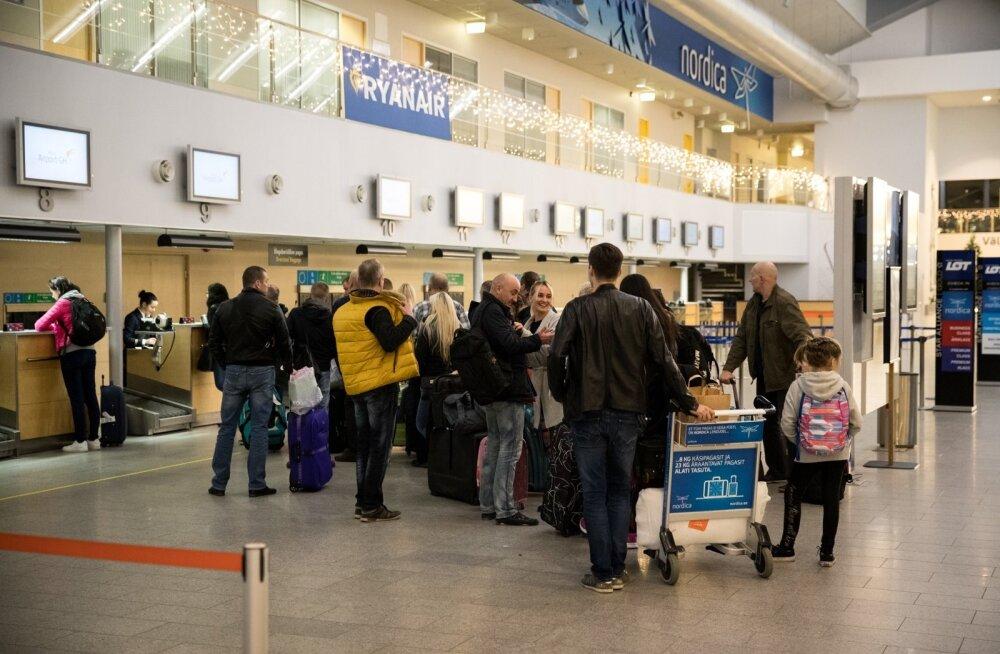 Vägev tulemus! Tallinna lennujaamas sündis uus reisijate arvu rekord