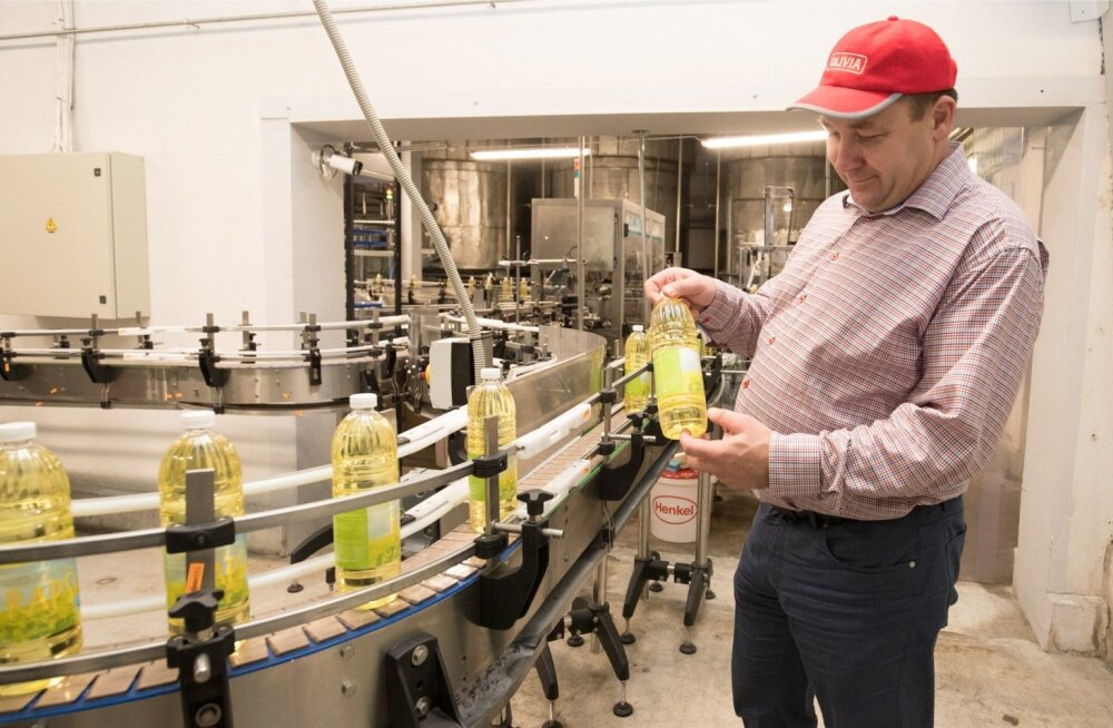 Eestis ei kasvatata piisavalt rapsi, et Scanola tehases jaguks kõikidesse pudelitesse kodumaist õli, tunnistas Ants Puusta.