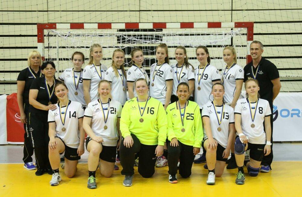 Eesti kuni 18-aastaste neidude koondis Bosnia turniiri 4. koha medalitega