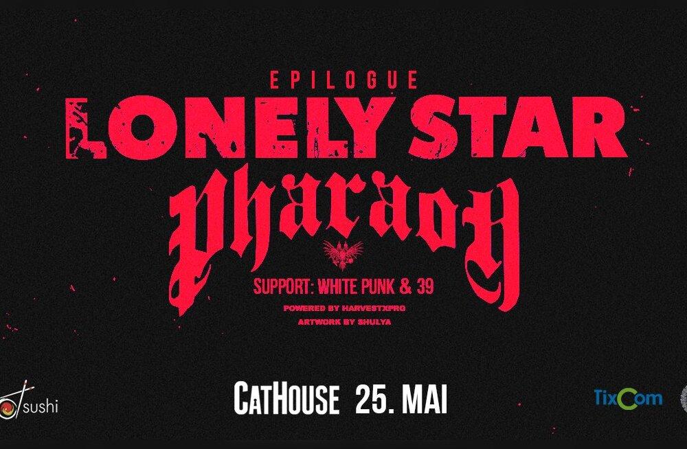 Pharaoh выступит в Таллинне в рамках тура Lonely Star