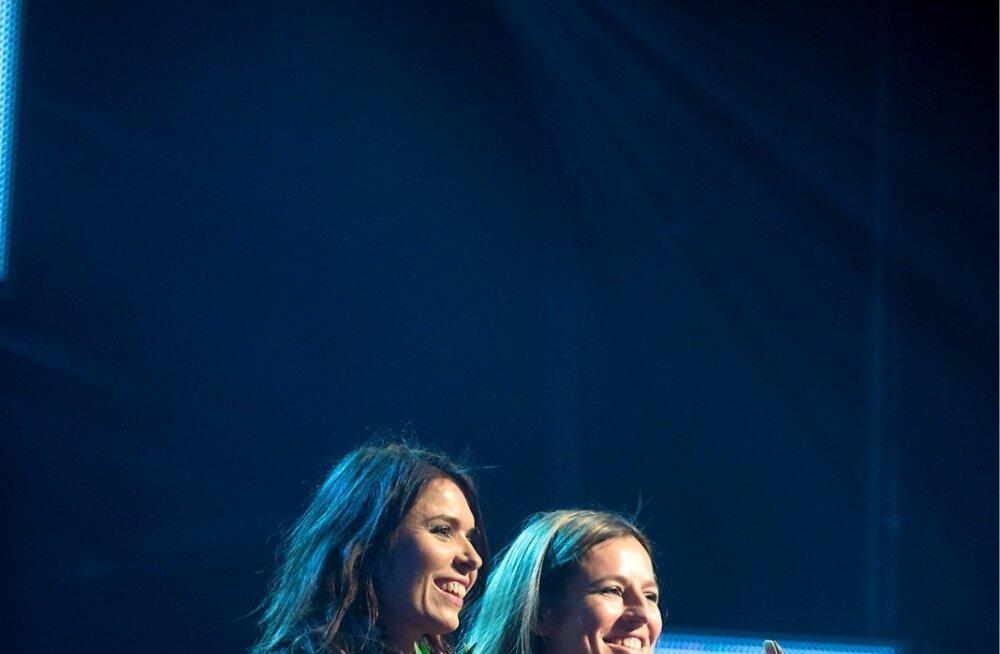 Kira Skov ja Maria Faust esinesid sel aastal Tallinnas Jazzkaarel.