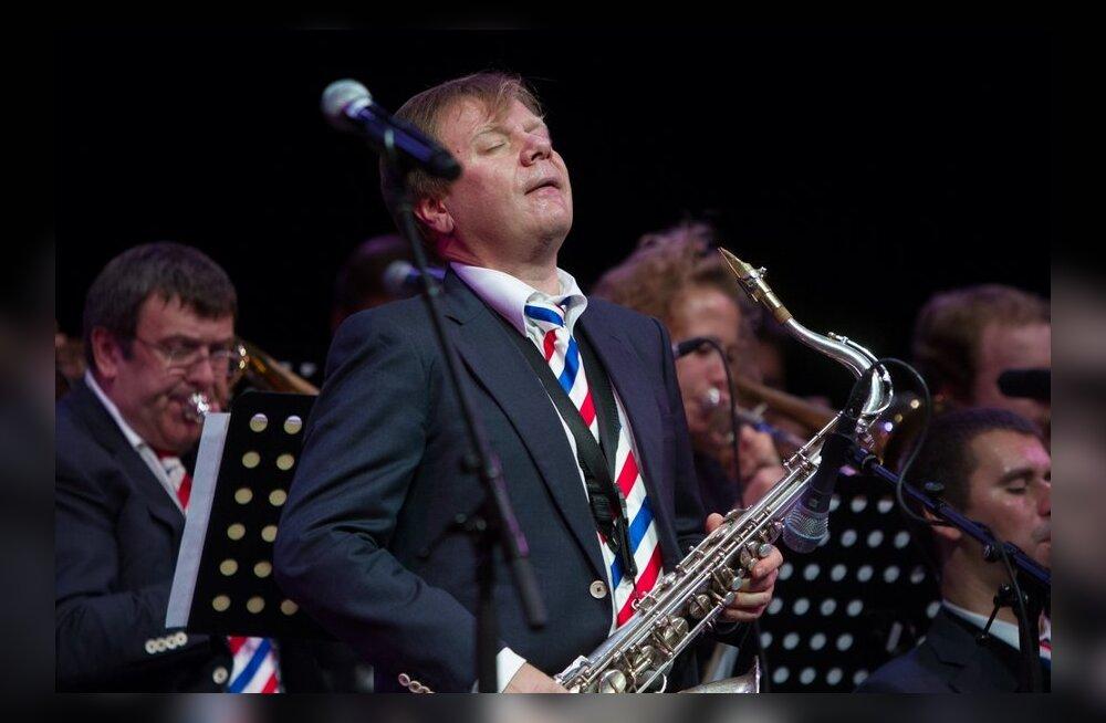 ФОТО: В концертном зале Nokia выступил известный саксофонист Игорь Бутман