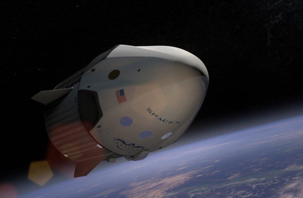 Elon Muski uus eesmärk: reis ümber Kuu juba järgmisel aastal