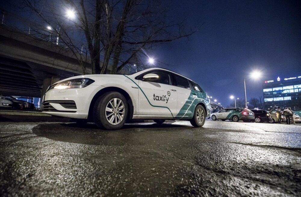 Taxify juhid kogunesid õhtukohvile 26.01.2018