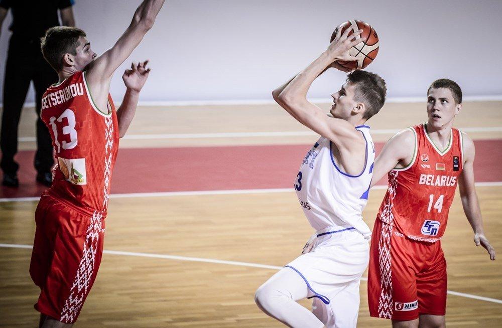 Hea töö! Eesti U18 korvpallikoondis alistas B-divisjoni EM-il Valgevene ning jõudis poolfinaali, Drellilt 25 punkti
