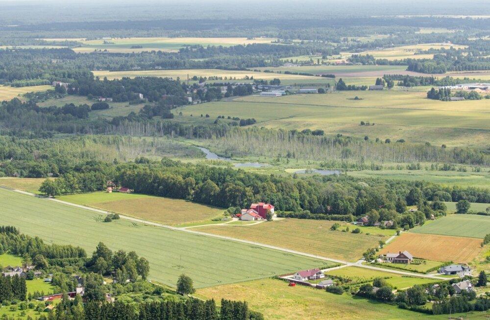 Viljandi Folgi ajal õhust