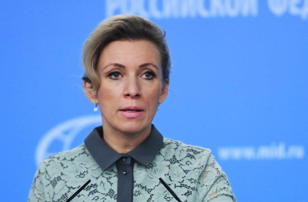 Välisministeeriumi esindaja Zahharova: enam ei tohi olla ka Vene sporti, aga meid ei murta