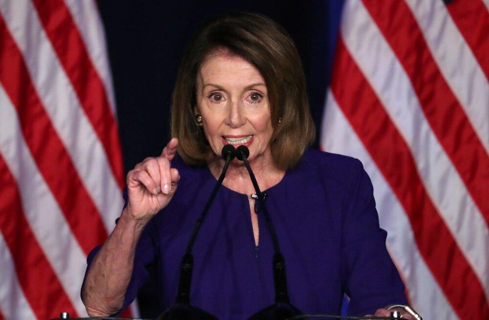 Demokraat Nancy Pelosist saab ilmselt taas esindajatekoja spiiker.