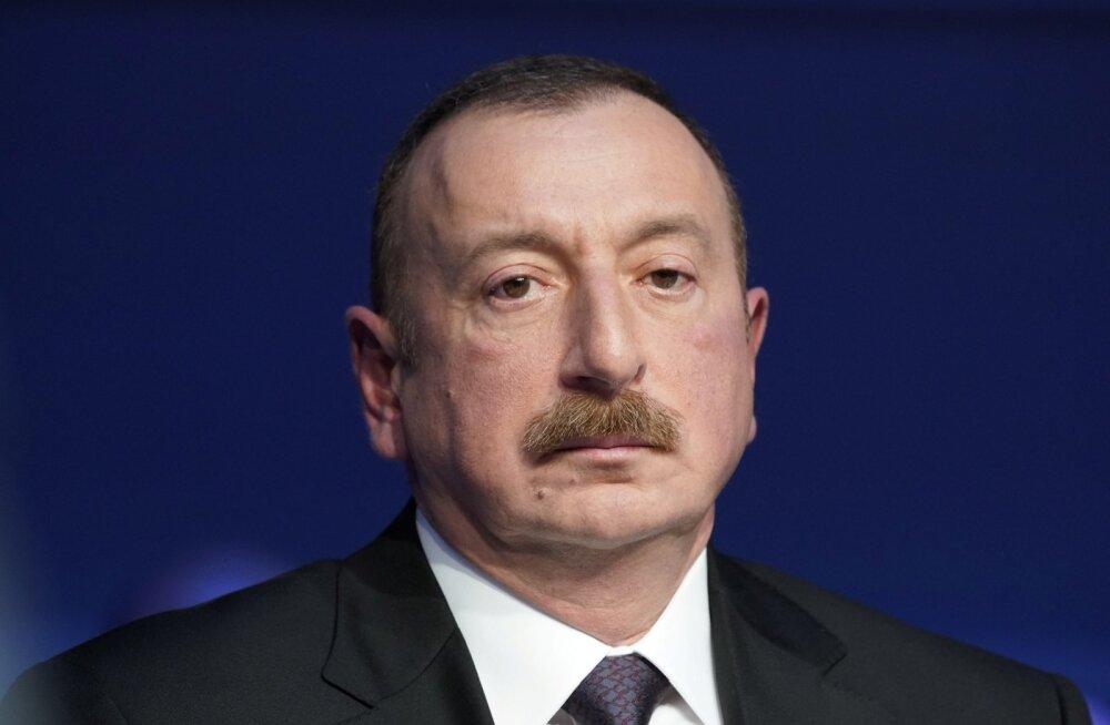 Aserbaidžaani valitseja Әliyev nihutas enda neljandat korda presidendiks valimist ettepoole