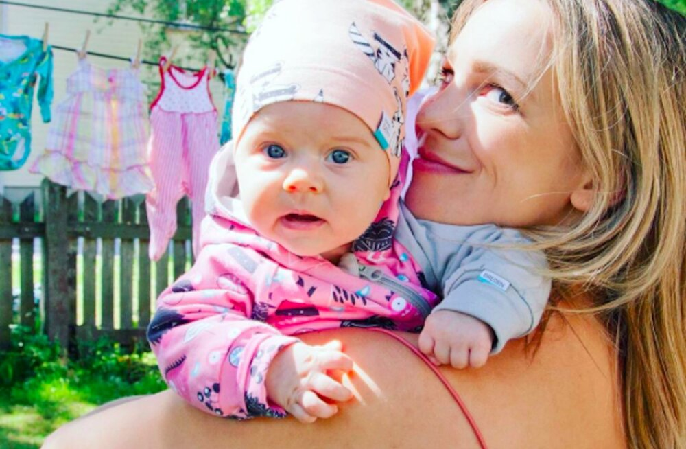 Marilyn Jurman sattus beebiga haiglasse: ma üle keha värisesin koos temaga kaasa