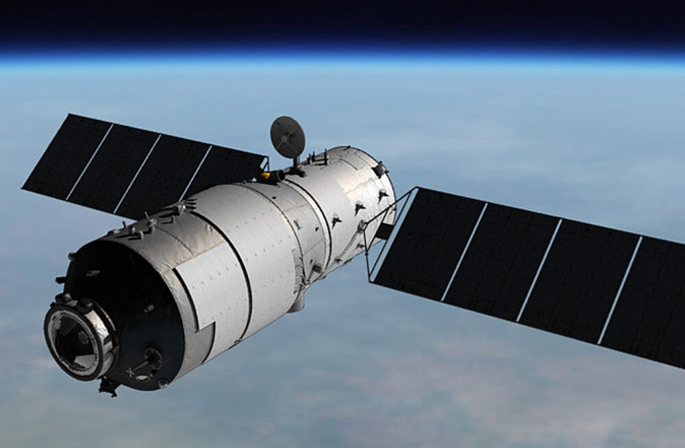Kontrolli alt väljunud Hiina kosmosejaam kukub teadmata kohas peagi tagasi Maale