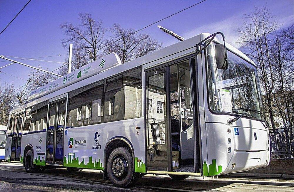 Moskva tänavatel hakkavad sõitma ülimoodsad elektribussid, mis on valmistatud... Venemaal
