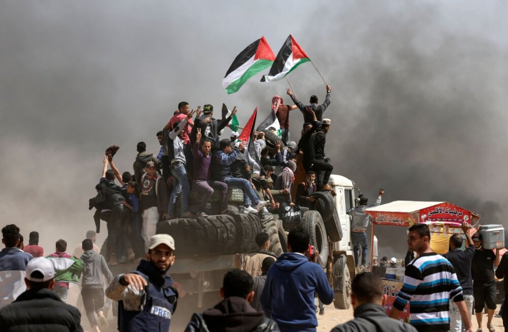 Чего на самом деле требуют палестинцы, протестующие в секторе Газа