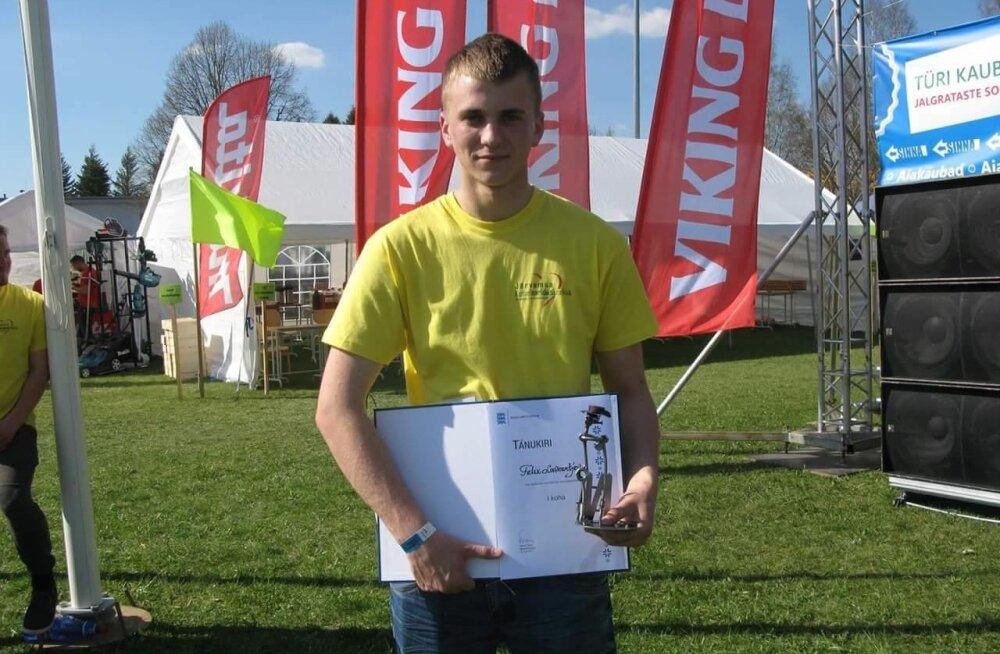 Tänavune parim noortalunik on Virumaalt pärit Felix Lavrentjev.