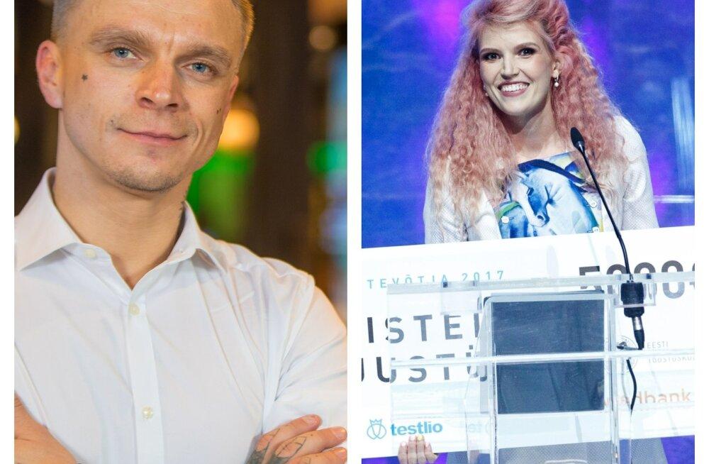 Tanel Padar ja Kristel Kruustük