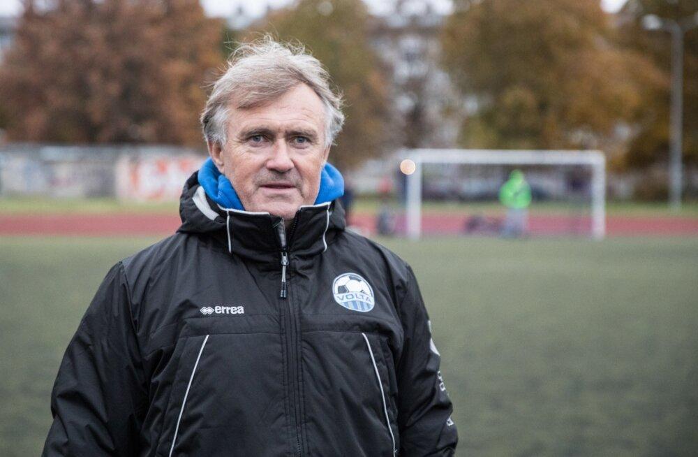 Volta treenerid Urmas Hepner ja Tarmo Rüütli