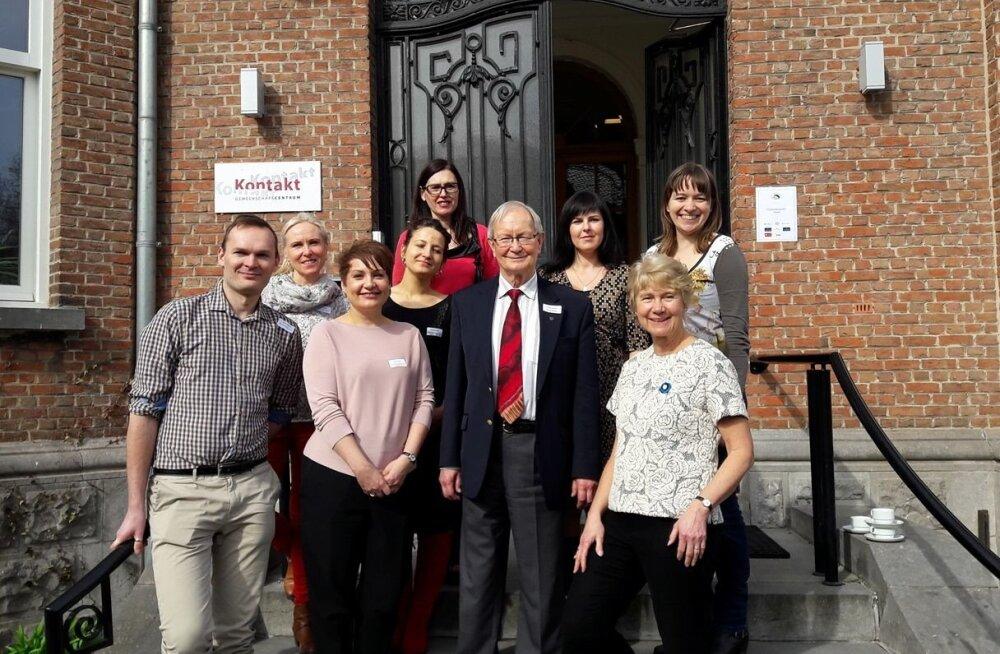 Eesti õpetajad Brüsselis