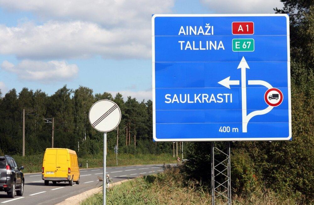 Läti, Saulkrasti, kinnisvarakriis, teedeehitus