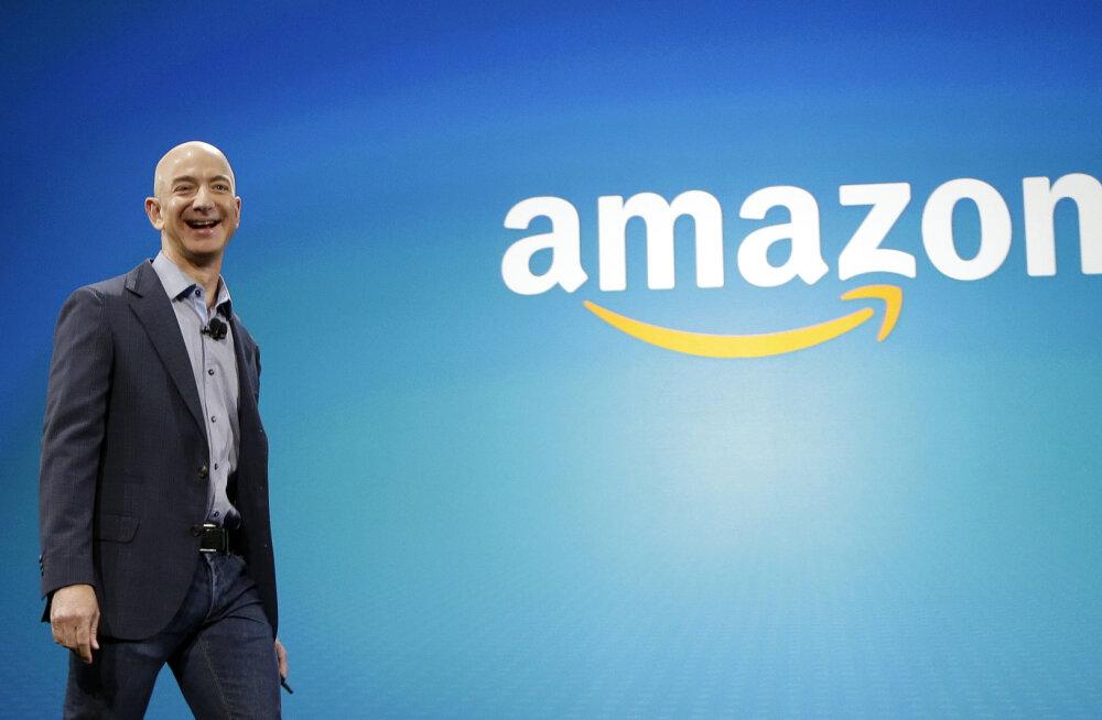 Pood, kust saab kõike: kümme fakti Amazoni ja ühe maailma rikkaima mehe Jeff Bezose kohta