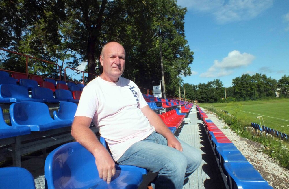 Йыхвиский стадион продолжает менять лицо