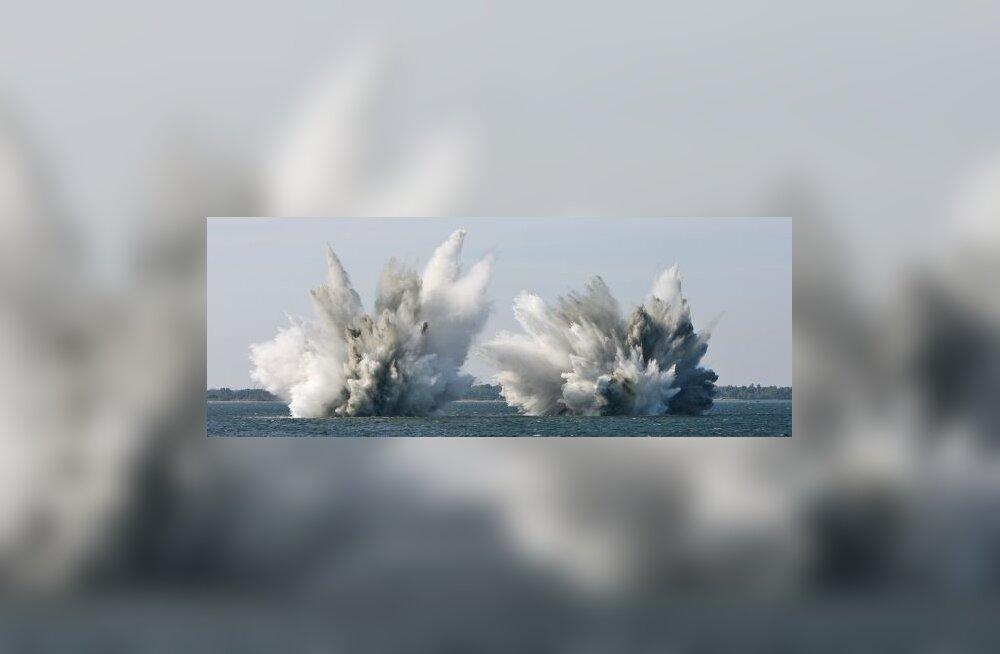 Mereväetuukrid lõhkasid esimesed Suuropi miinid