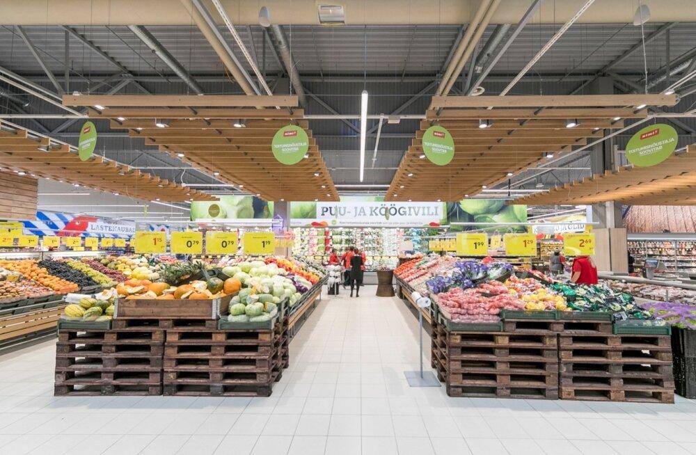 Eesti Pank: hinnatõus tänavu ei aeglustu. Kuum suvi võib mõjutada toiduainete hindu
