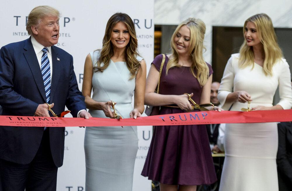 Karm suvi: Tiffany Trump vaevleb oma presidendist isa tõttu stressi käes