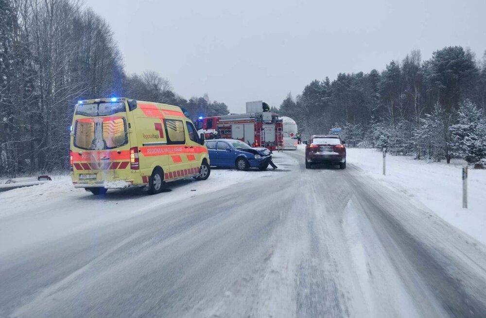 Liiklusõnnetus Kohila alevis