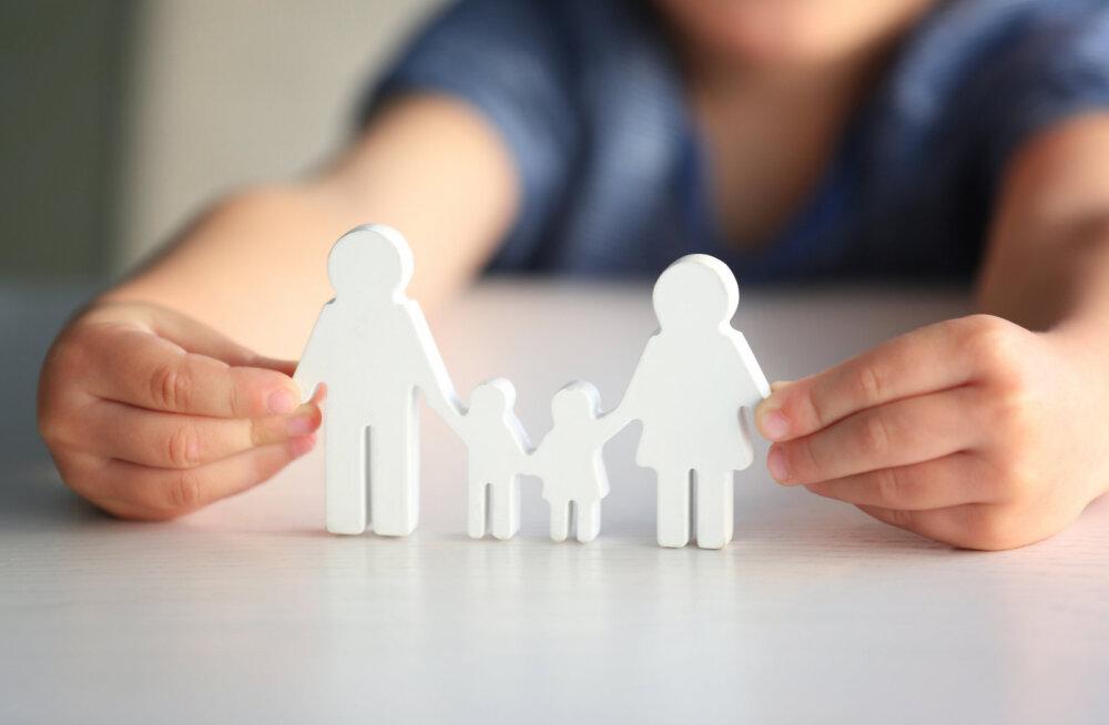Isal on tähtis roll lapse arengus