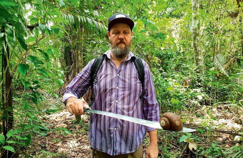 Henry Kõrvitsa õpetlikud seiklused Amazonase vihmametsades: kõhulahtisus, eineks vaglad ja ujumine piraajade keskel