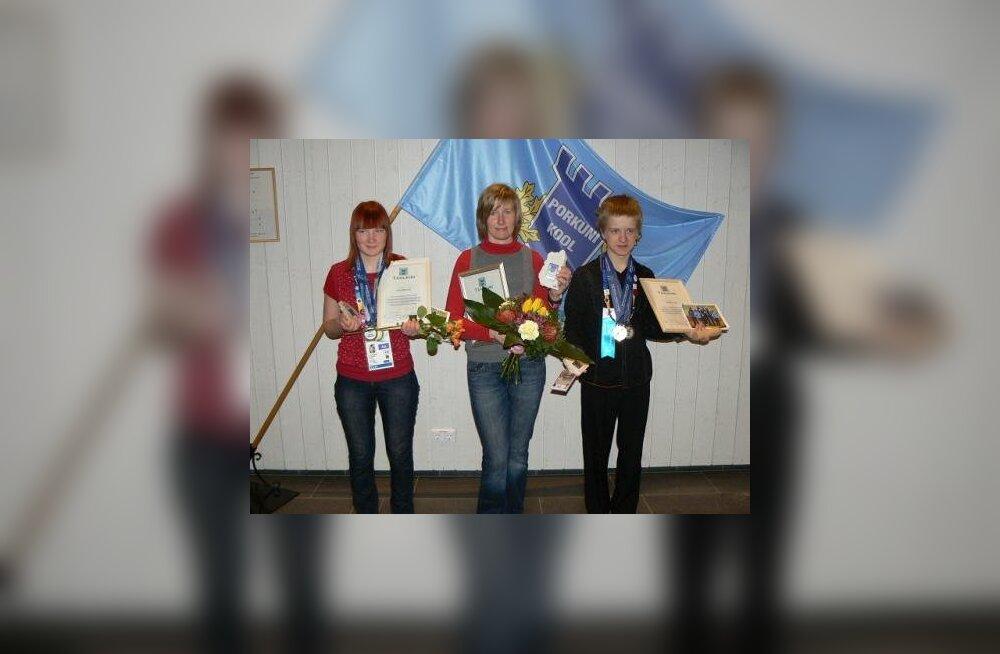 Porkuni kooli õpilased osalesid Eriolümpia Maailma Talimängudel Lõuna-Koreas