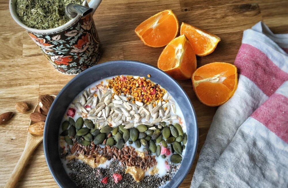 RETSEPT | Kodune mitmeviljapuder seemnetega
