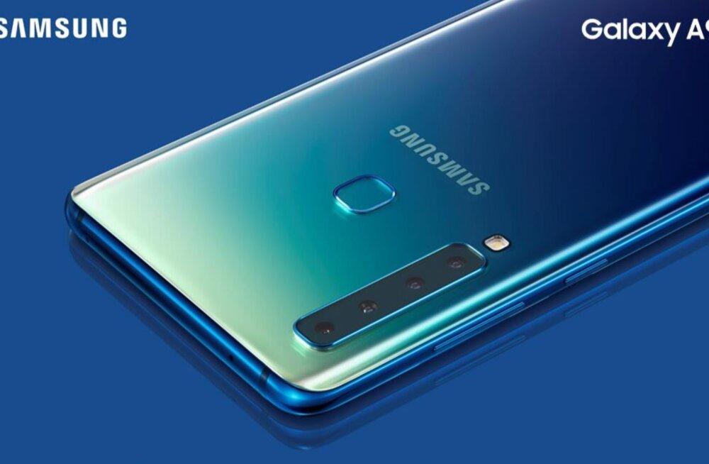 Samsung tutvustas täna maailma esimest nelja tagukaameraga nutitelefoni