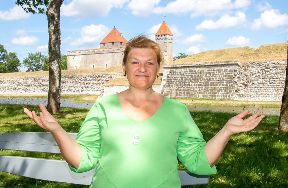 Saaremaa abivallavanem Helle Kahm lubab, et kultruuripealinnaks saades toimib mandri ja saare vahel veatu parvlaevaliiklus.
