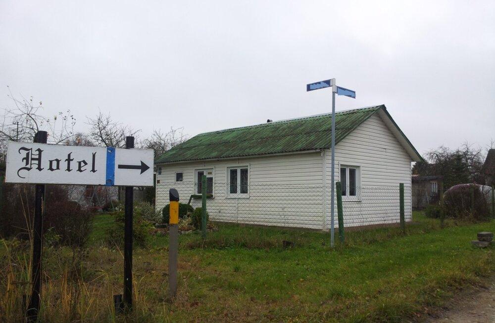 ФОТО читателя Delfi: Шесть соток Эстонии — в Латвии