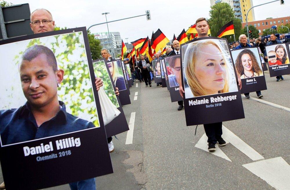 Mõrv Chemnitzis mõjutab Saksamaa tulevikku