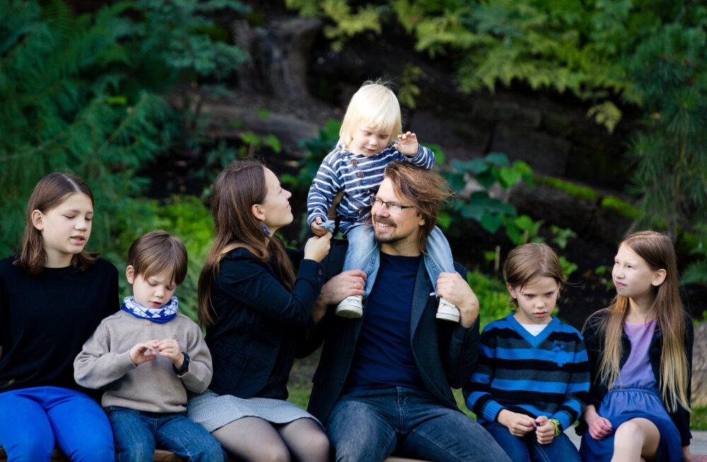 Eesti isa ütleb oma arvamuse välja | Loomakasvatus näib olevat lastest tähtsam