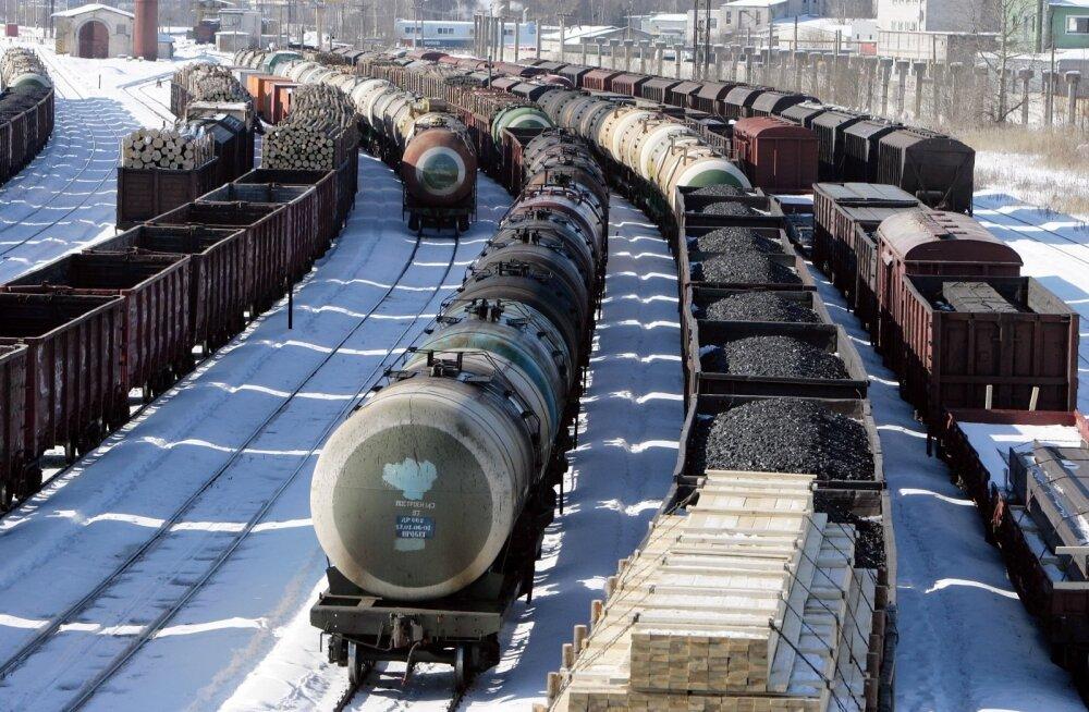 Venemaa-suunalised raudteeveod kahanesid tänavu jaanuaris 39 protsenti