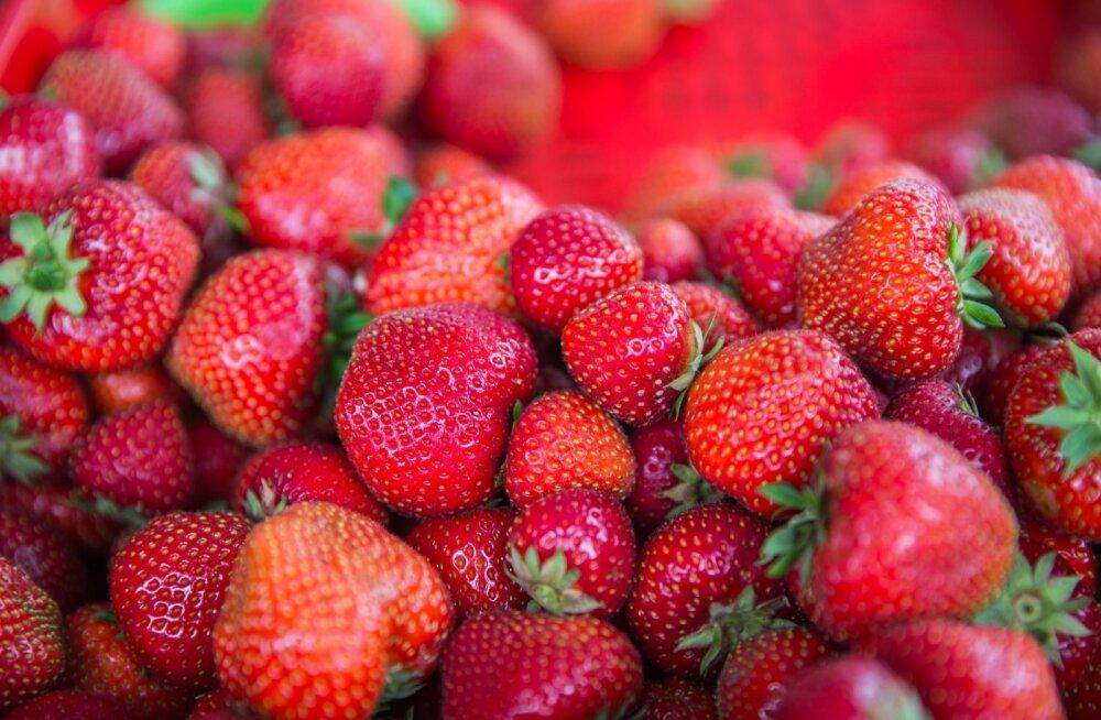 Maasikad.