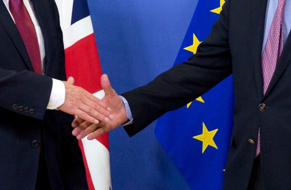 Britid ja euroliit alustasid eile ametlike kõnelustega.