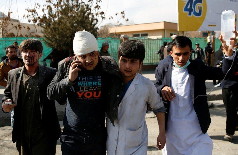 Nädalavahetusel sai pealinnas Kabulis Talibani korraldatud rünnakus surma üle saja ja vigastada üle 230 inimese.