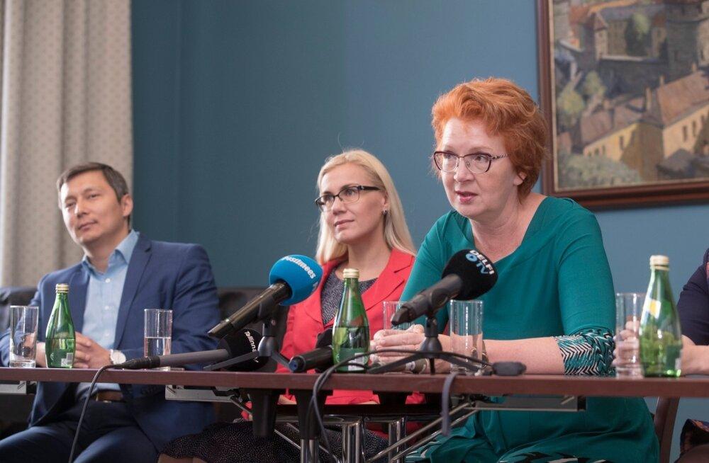 Evelyn Sepp: Keskerakond otsustas, et kõik jäävad