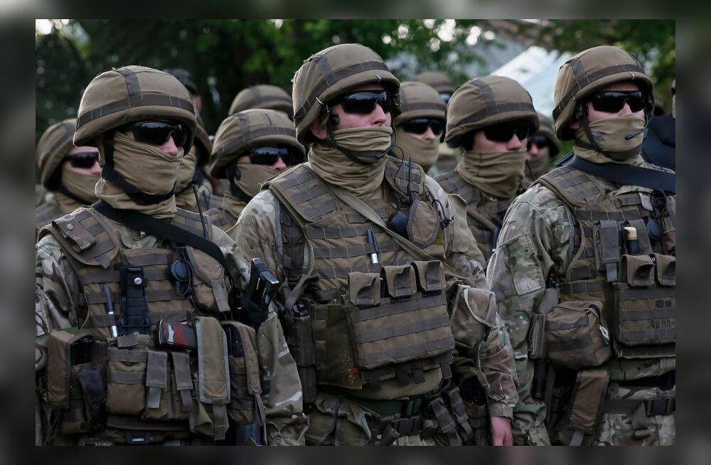 Ukraina sõjaväelased hävitasid Luhanski oblastis sada vastase võitlejat