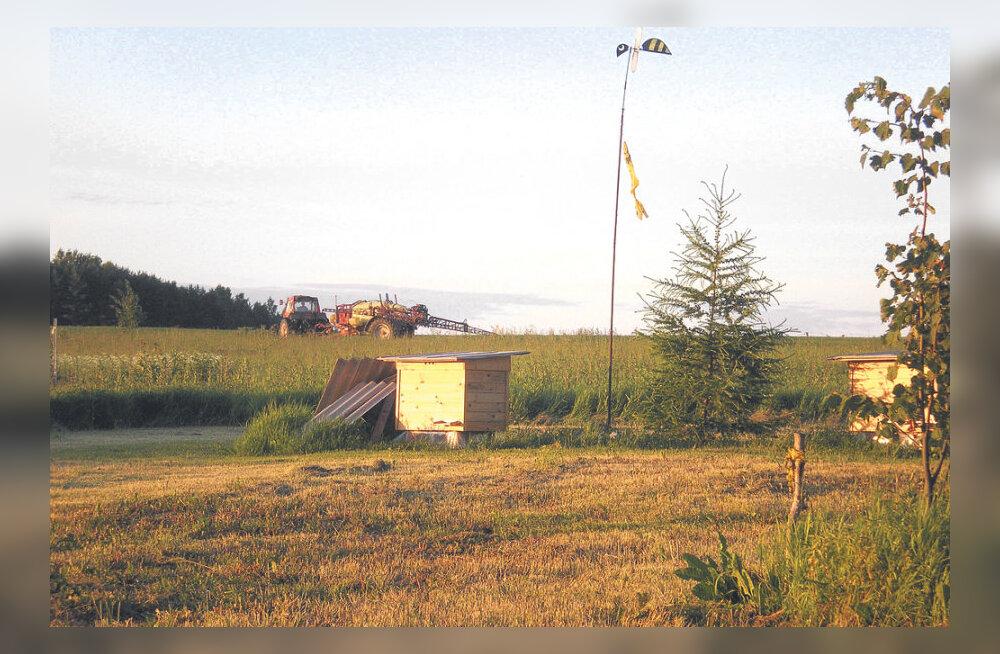 Mesinik: Eestis koguneb iga elaniku kohta terve vannitäis põllumürki kuus