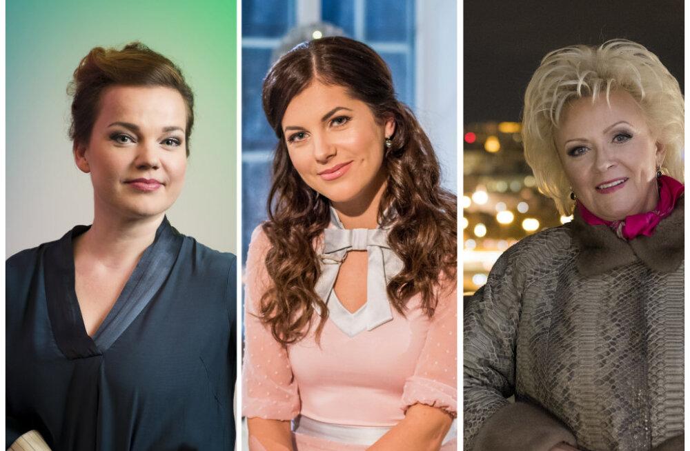 TOP3 | Need naised on Eesti edukaimate meelelahutajate nimistu tipus!