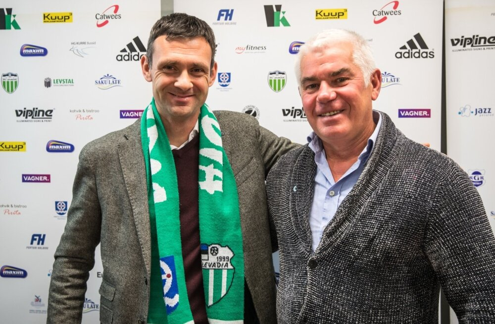 FC Levadia ja FC Infoneti ühinemise pressikonverents