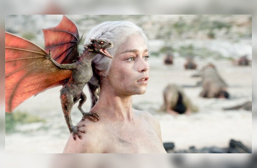 Daenerys Targaryen (kehastab näitlejanna Emilia Clarke) on sarja üks populaarsemaid tegelasi.