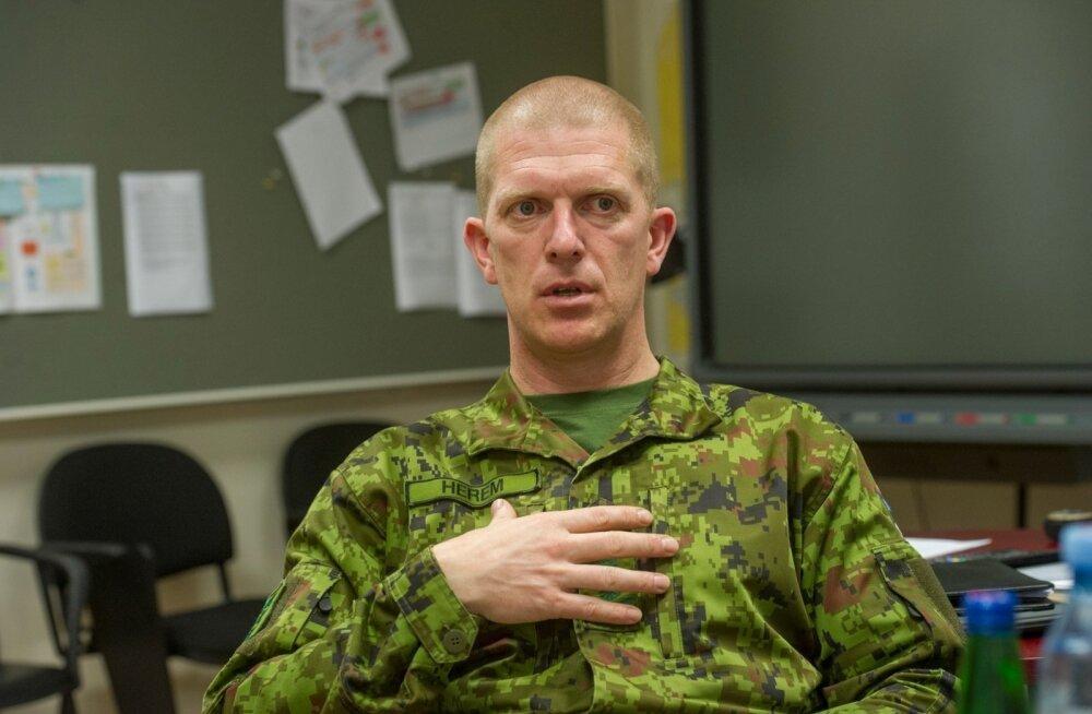 Министр обороны предлагает назначить командующим Силами обороны Мартина Херема